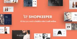Shopkeeper – eCommerce WP Theme for WooCommerce