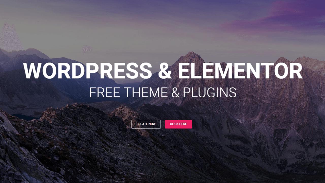 How to Make a WordPress Website 2017 – Using Elementor & Hestia Free Theme