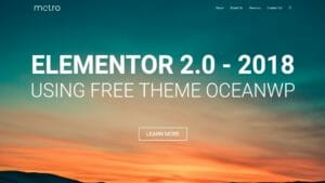 How to Make a WordPress Website With Free Theme 2018 – ELEMENTOR 2.0 Tutorial for Beginners -OceanWP
