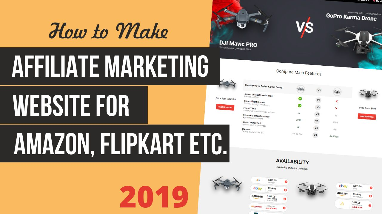 How to Make an Affiliate Marketing Website for Amazon, FlipKart etc. With WordPress & ReHub