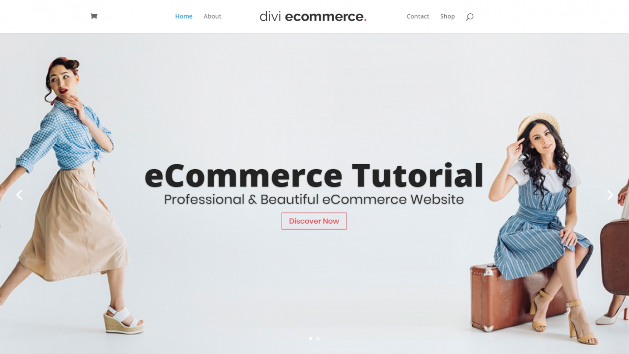 How to Create an eCommerce Website with WordPress – ONLINE STORE – DIVI 2019