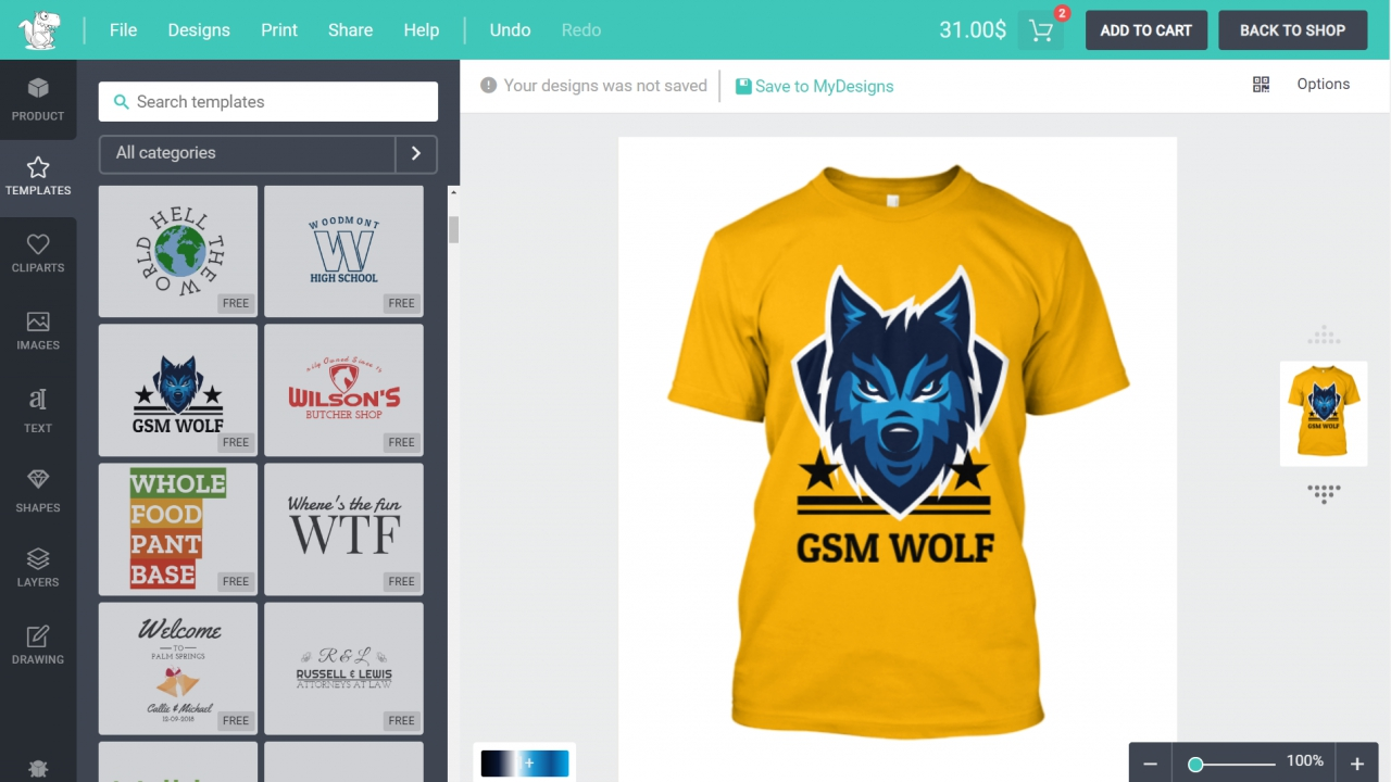 How to Make a T-Shirt Printing, Designing eCommerce Website with WordPress – Lumise WooCommerce 2019