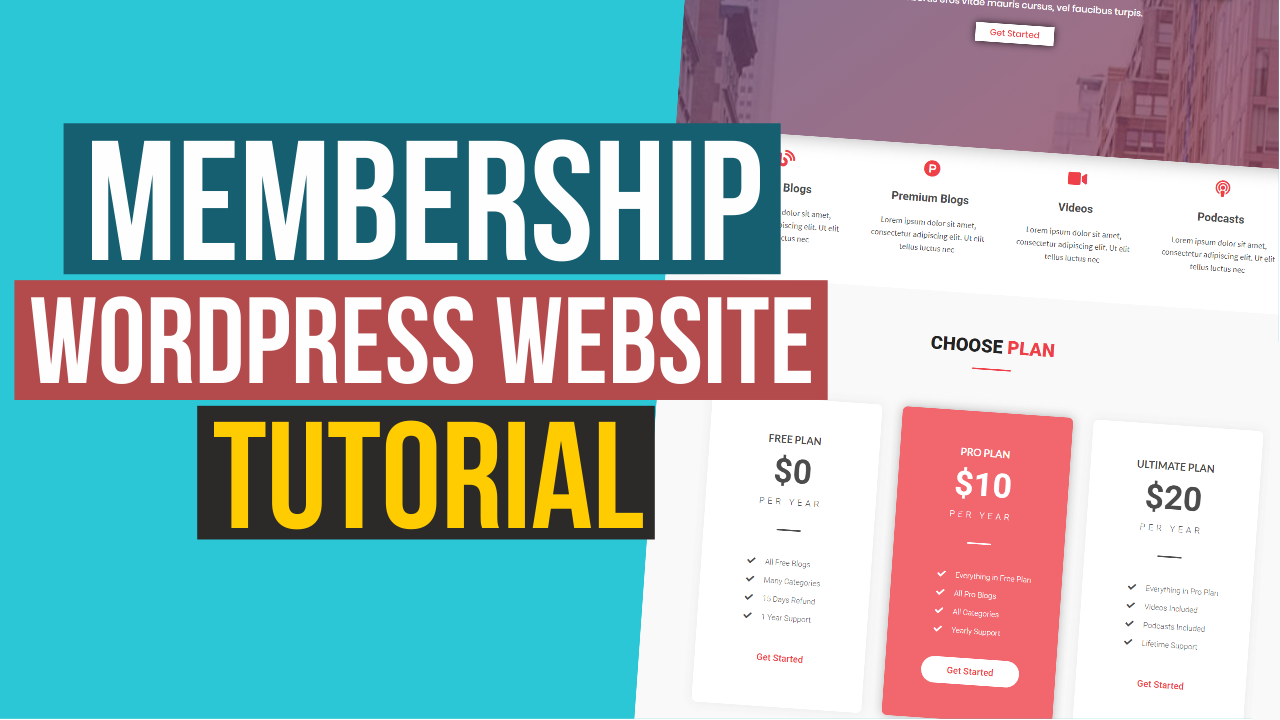 How to Make Membership and Community Website and News Blog with WordPress – Ultimate Membership Pro