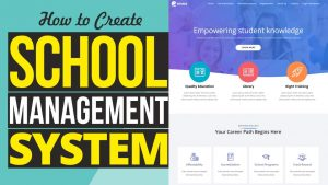 How to Make School Management System Website in WordPress   Attendance, Results, Timetable, SMS etc