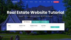 How to Make a Real Estate Listing & Directory Website with WordPress & CRM – Houzez Theme