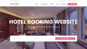How to Make Hotel, Room or Hostel Booking Website with WordPress & Hotel Zante Theme