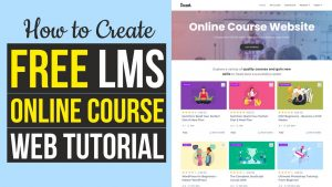 Read more about the article How to Create Online Course, LMS, Educational Website like Udemy with WordPress 2021 – Tutor LMS