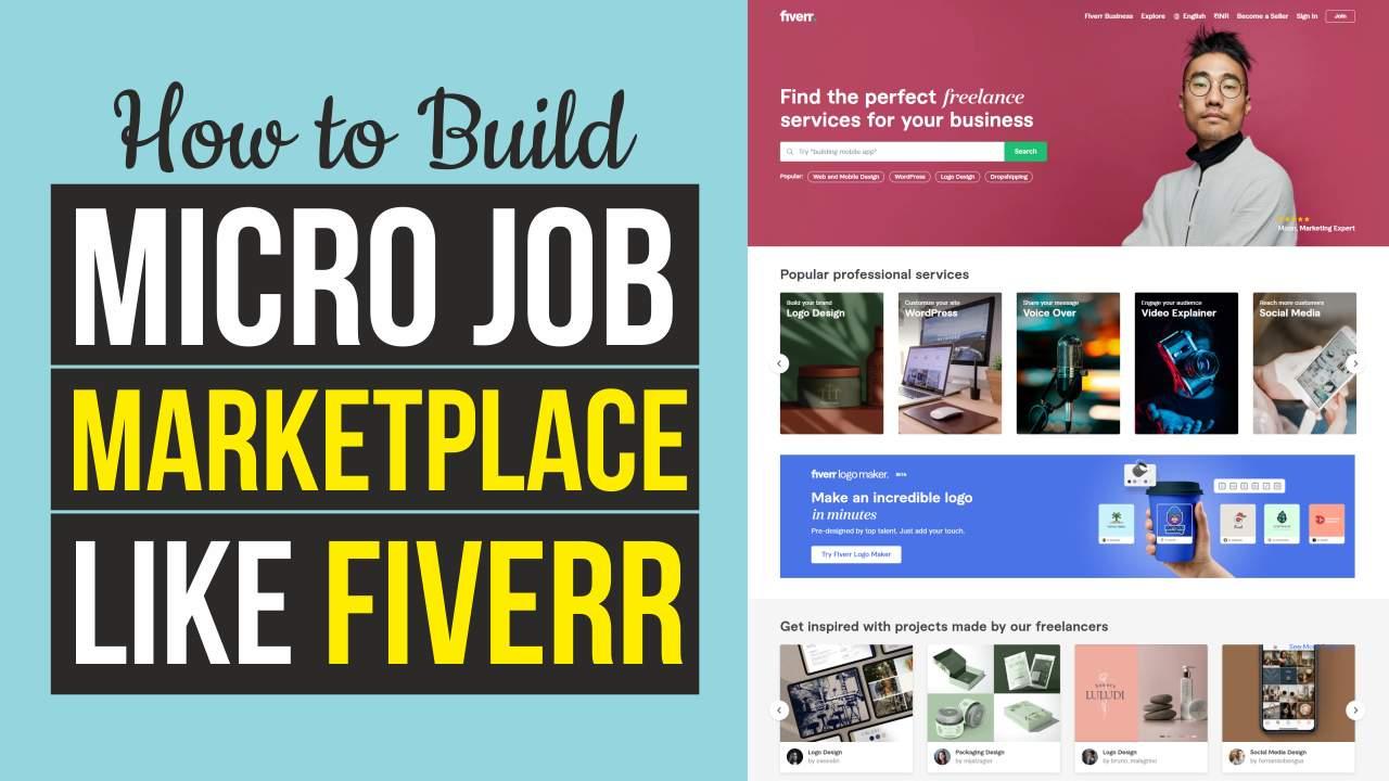 How to Make Freelancer & Micro Job Marketplace Website Like Fiverr, Freelancer & Upwork – WordPress 2021